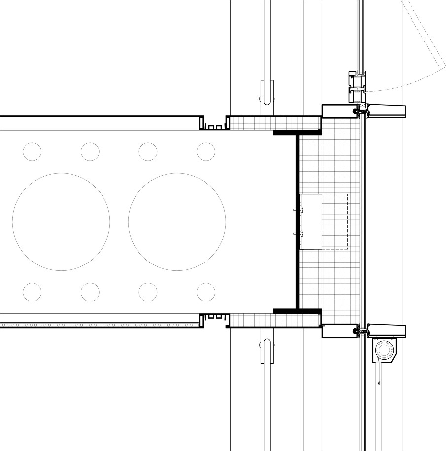Metal Curtain Wall Details : Laurin moseley btech research just another city tech
