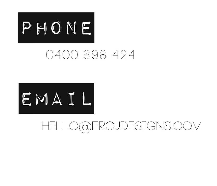 contact froj designs brand management. Black Bedroom Furniture Sets. Home Design Ideas