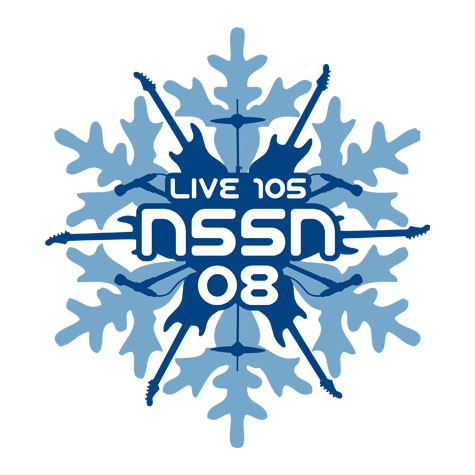 this logo was created for the san francisco bay area radio station live 105 and their holiday concert event not so silent night that took place in 2008 - Bay Area Christmas Radio Stations